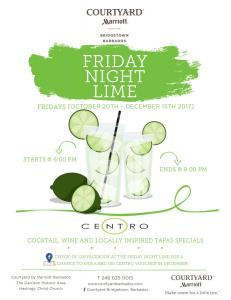 Courtyard Friday Night Limes Full